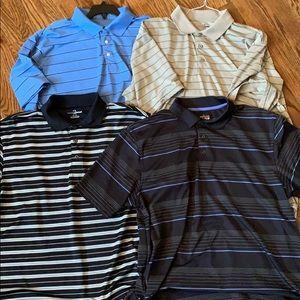 4 Grand Slam golf polos XL
